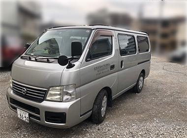 ワンボックス車(日産キャラバン)